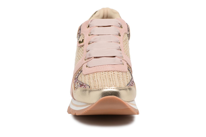 Baskets Gioseppo Fitas Rose vue portées chaussures