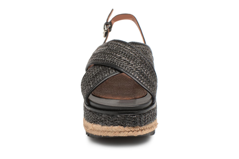 Espadrilles Gioseppo Syleas Noir vue portées chaussures