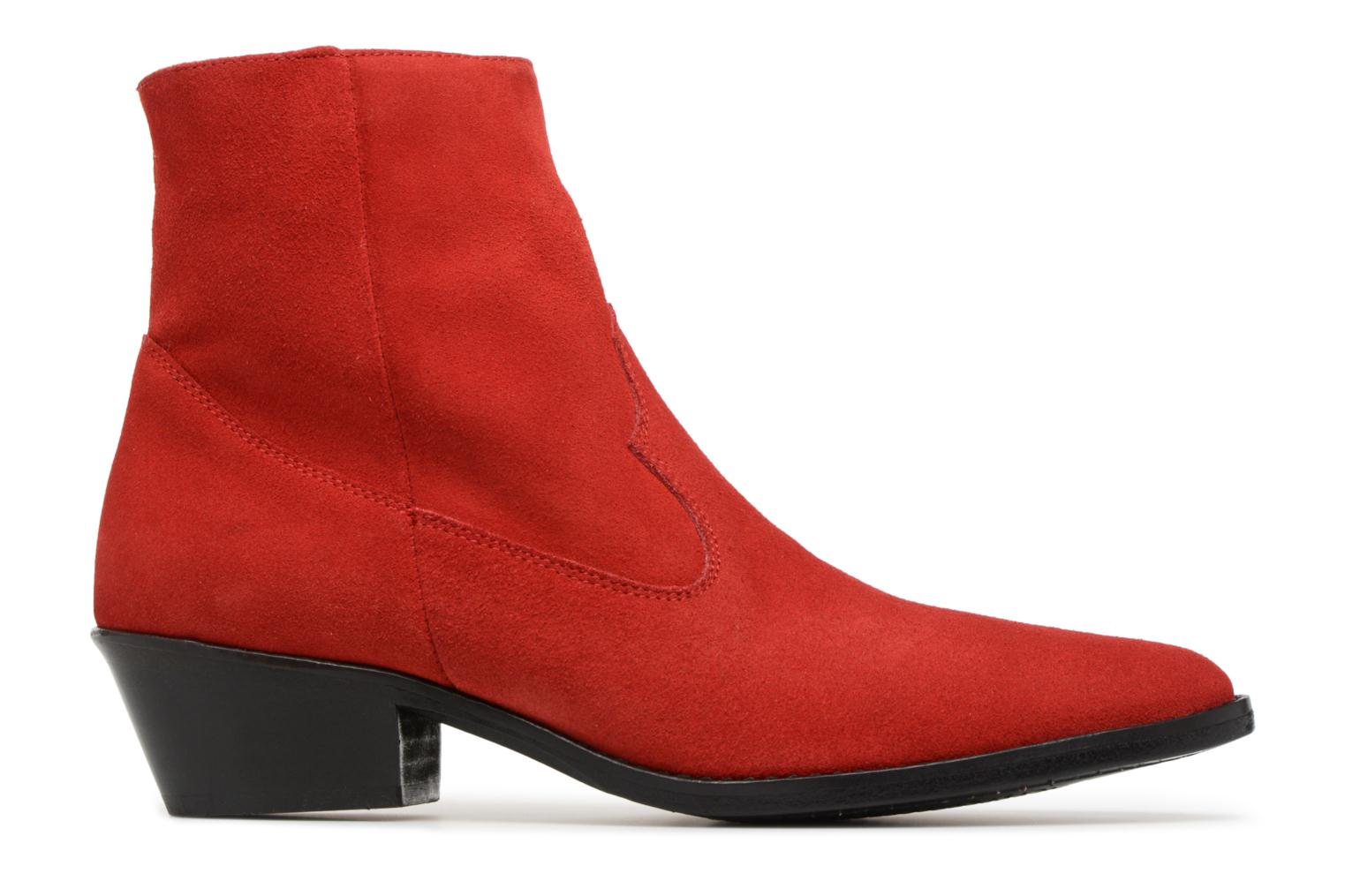 Ankle boots Valentine Gauthier Keith Red back view