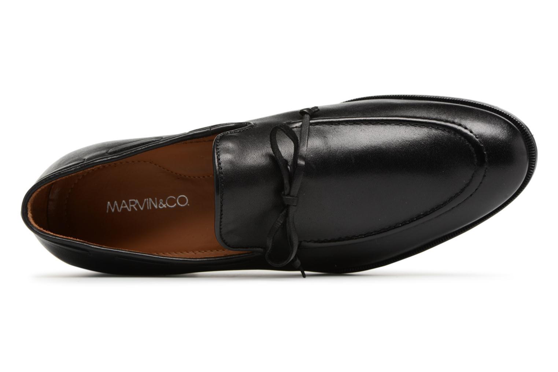 Mocassins Marvin&Co Newlace Zwart links