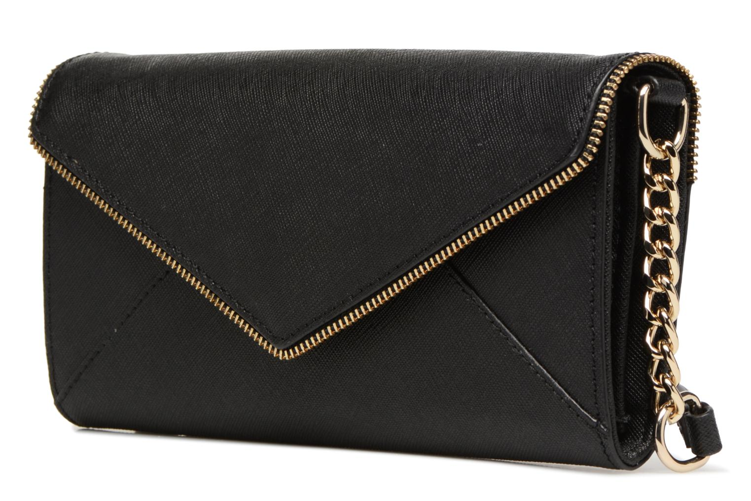 ACCESSORIES LEATHER SH15ISSX13 CLEO WALLET CHAI Black