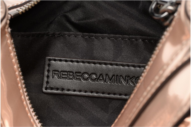 Sacs à main Rebecca Minkoff MIRRORED METALLIC MINI MAC Or et bronze vue derrière