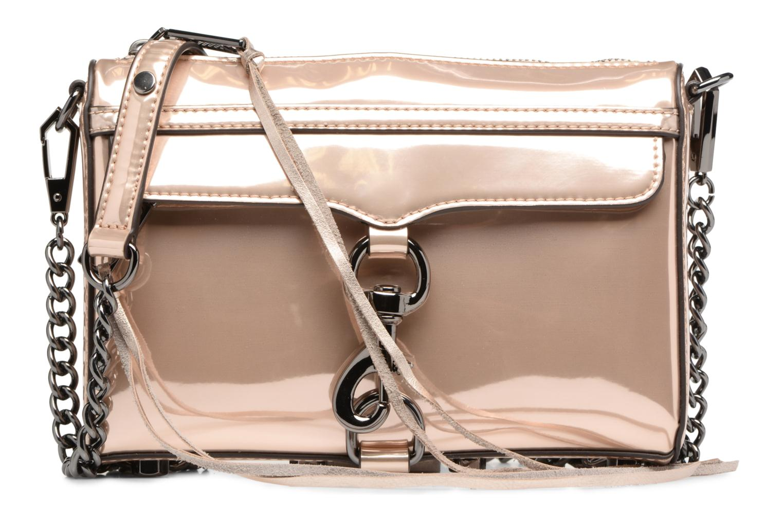 Handtaschen Rebecca Minkoff MIRRORED METALLIC MINI MAC gold/bronze detaillierte ansicht/modell