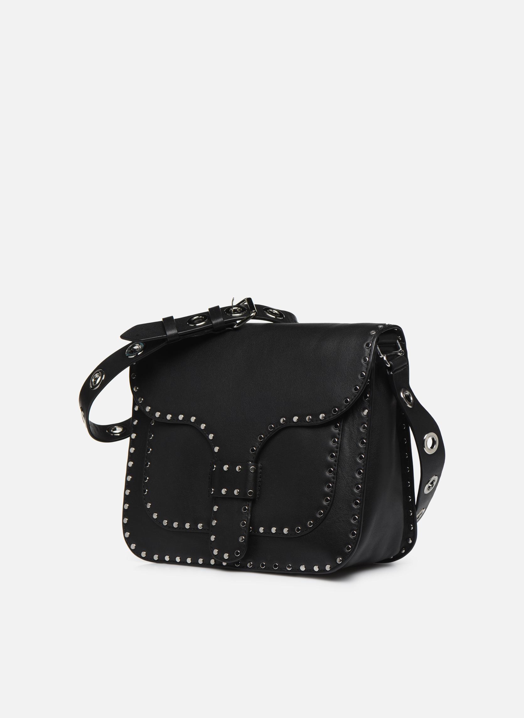 Handtaschen Rebecca Minkoff MIDNIGHTER LARGE MESSENGER schwarz schuhe getragen