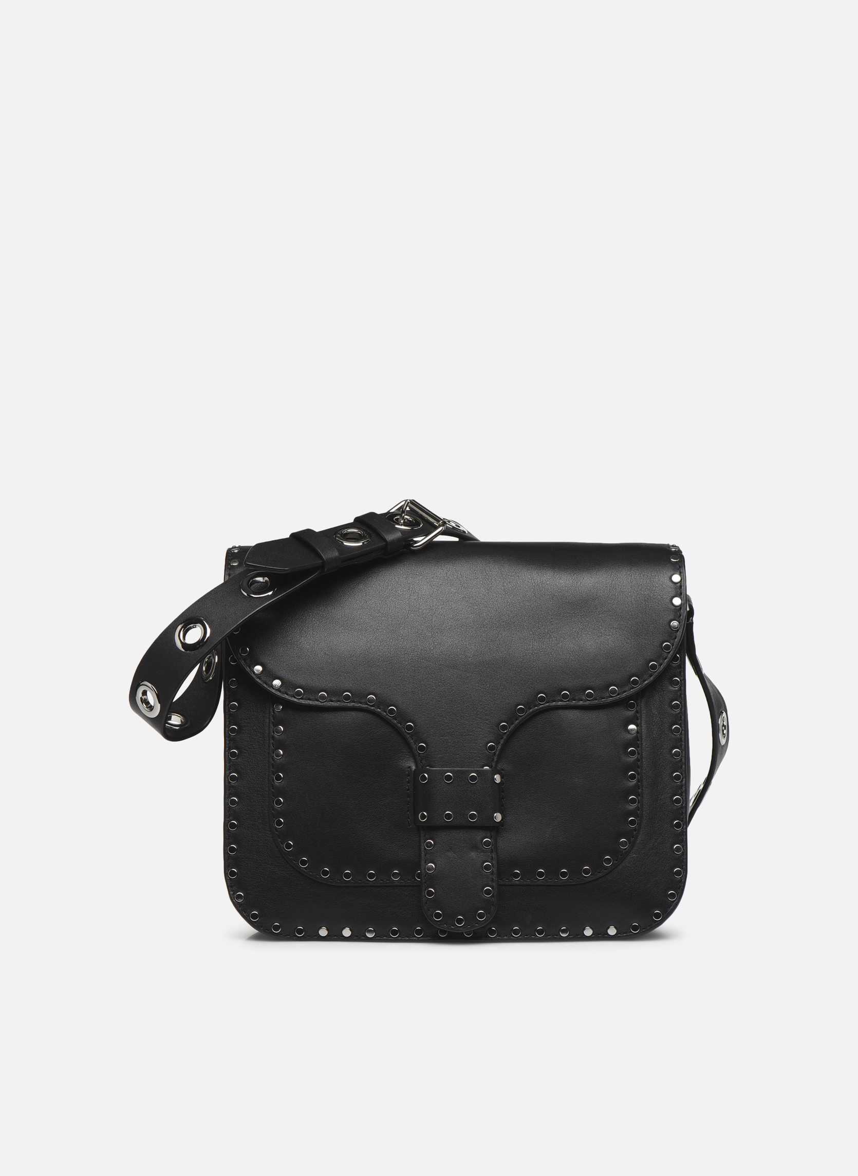 Handtaschen Rebecca Minkoff MIDNIGHTER LARGE MESSENGER schwarz detaillierte ansicht/modell