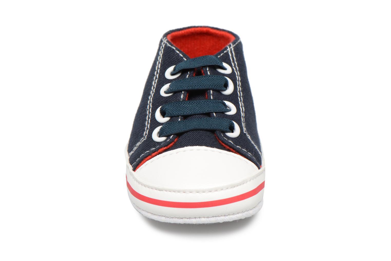 Baskets PSG Aron Bleu vue portées chaussures