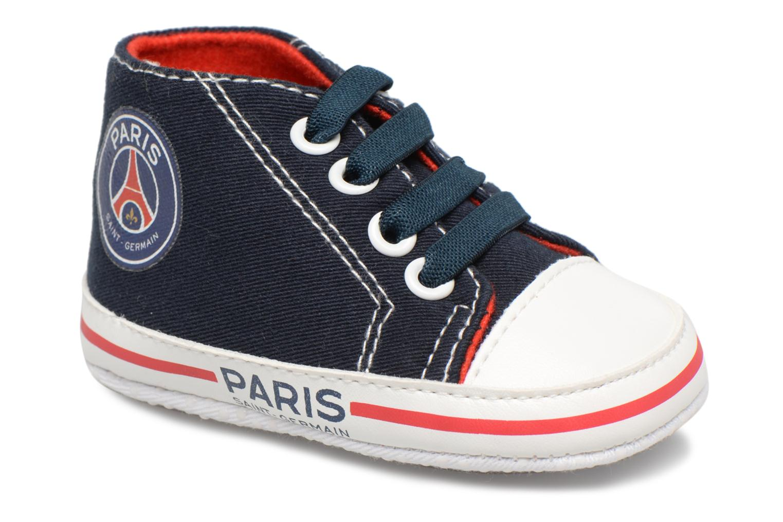 Baskets PSG Aron Bleu vue détail/paire