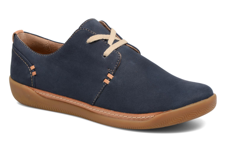 Grandes Unstructured descuentos últimos zapatos Clarks Unstructured Grandes Un Haven Lace (Azul) - Deportivas Descuento 4da894