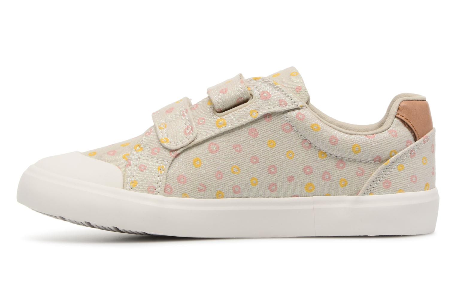 Trainers Clarks Comic Cool Beige front view