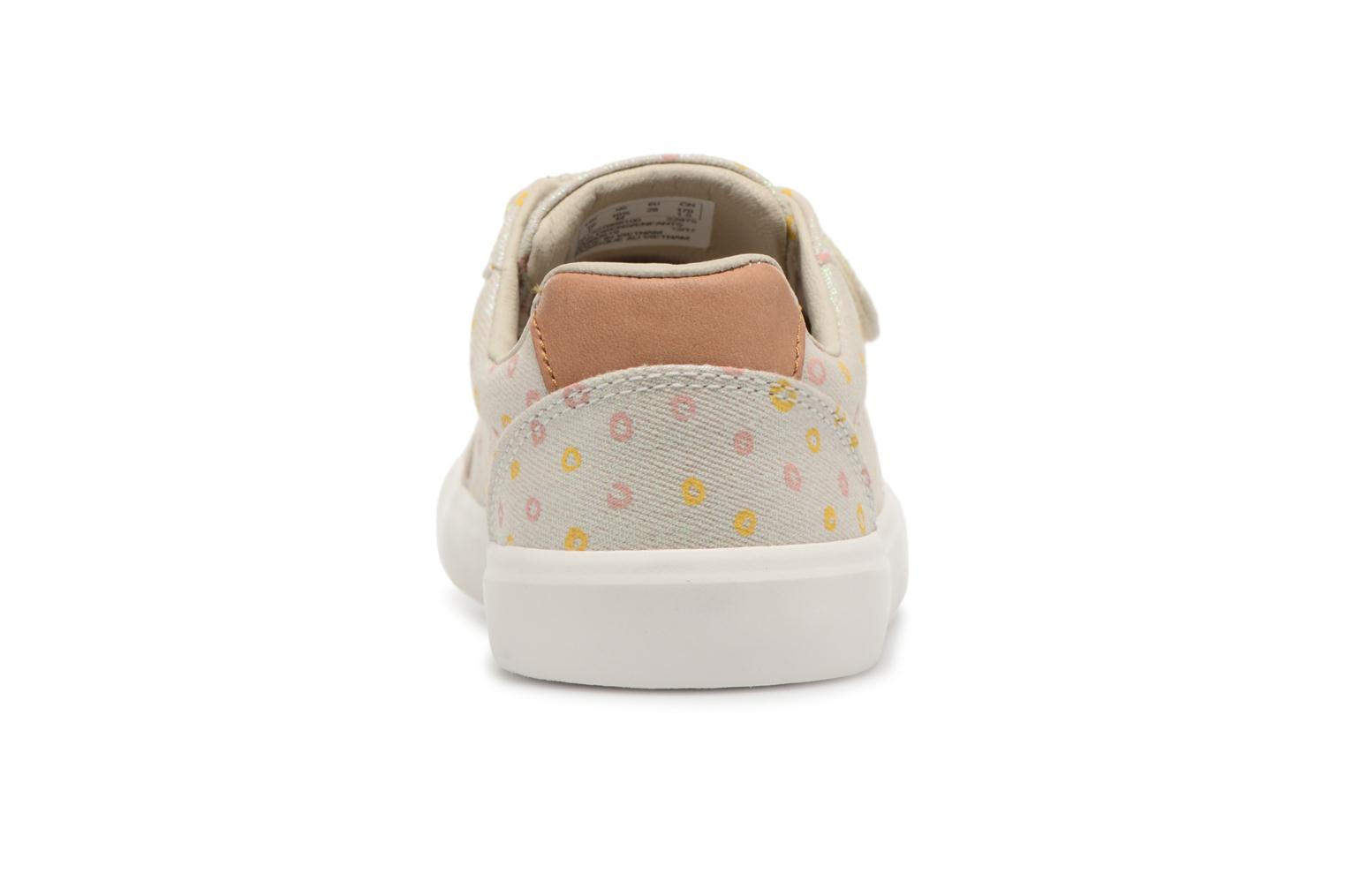 Trainers Clarks Comic Cool Beige view from the right