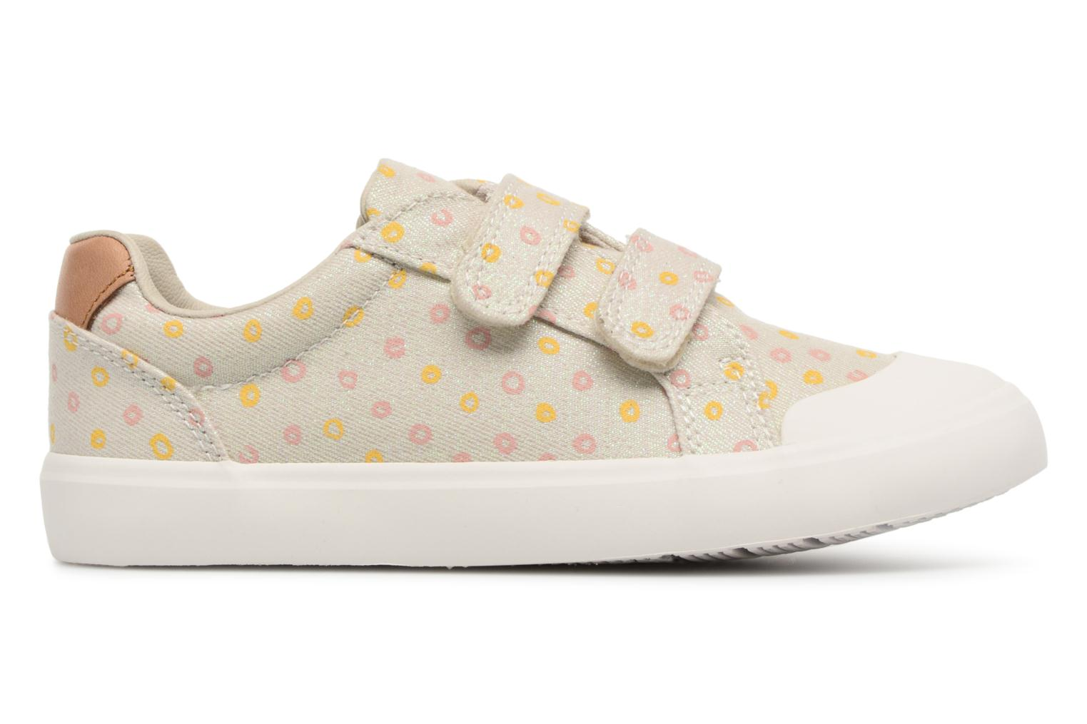 Trainers Clarks Comic Cool Beige back view