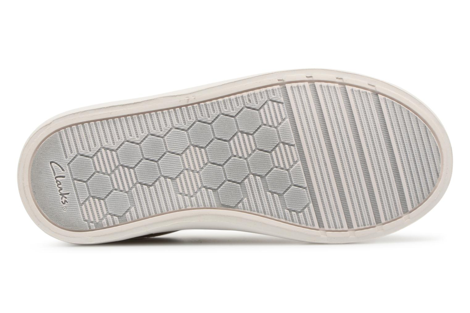 Trainers Clarks Comic Cool Beige view from above