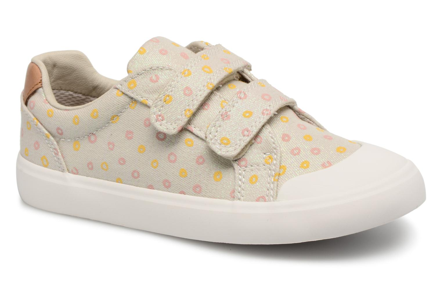 Trainers Clarks Comic Cool Beige detailed view/ Pair view
