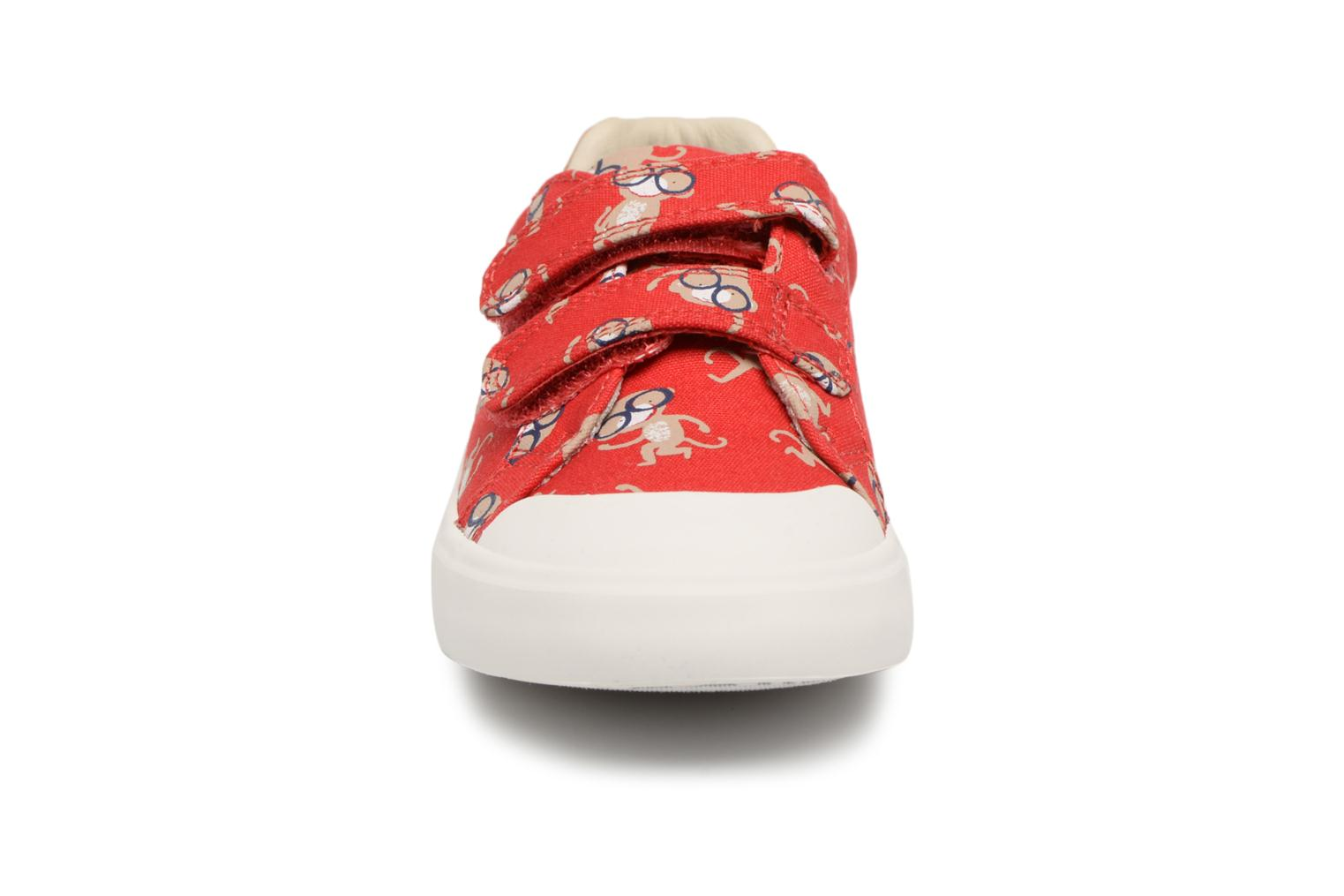 Red Combi Clarks Comic Air (Rouge)