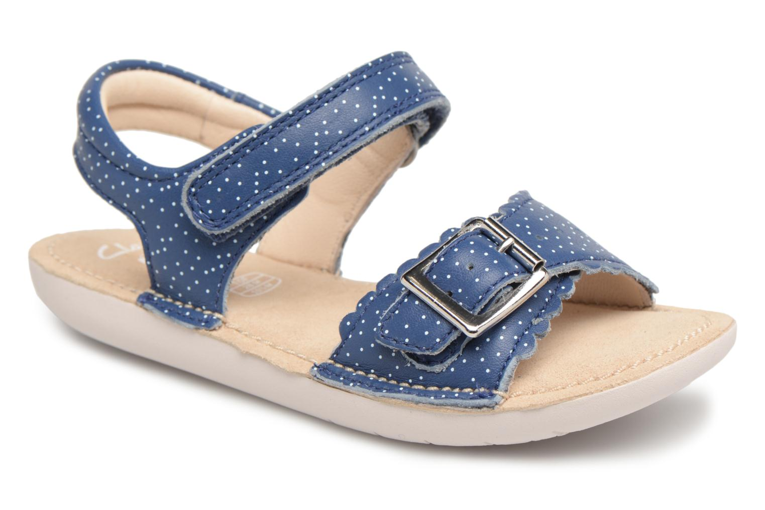 Leather Blossom Blue Ivy Inf Clarks w7FnOqIx