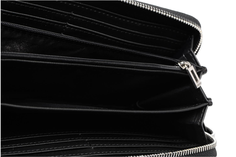 Pelletteria Guess LARGE ZIP AROUND/BLA Nero immagine posteriore