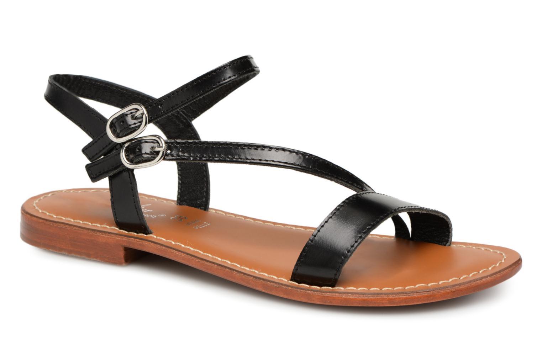 Zapatos especiales para hombres y mujeres L'Atelier Tropézien Ines (Negro) - Sandalias en Más cómodo
