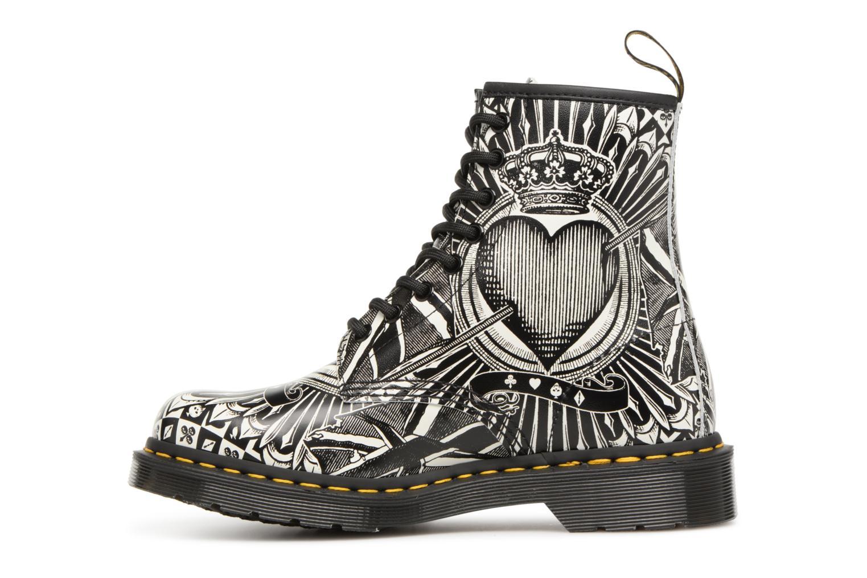 Bottines et boots Dr. Martens 1460 EPCB Noir vue face