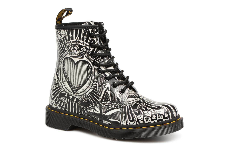 Bottines et boots Dr. Martens 1460 EPCB Noir vue détail/paire