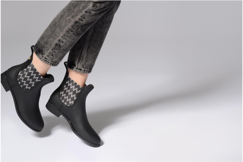 Bottines et boots Lemon Jelly Sahara 01 Noir vue bas / vue portée sac