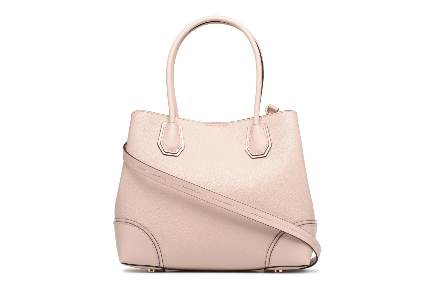 Bolsos de mano Michael Michael Kors Mercer Gallery MD Center Zip Tote Rosa vista de frente