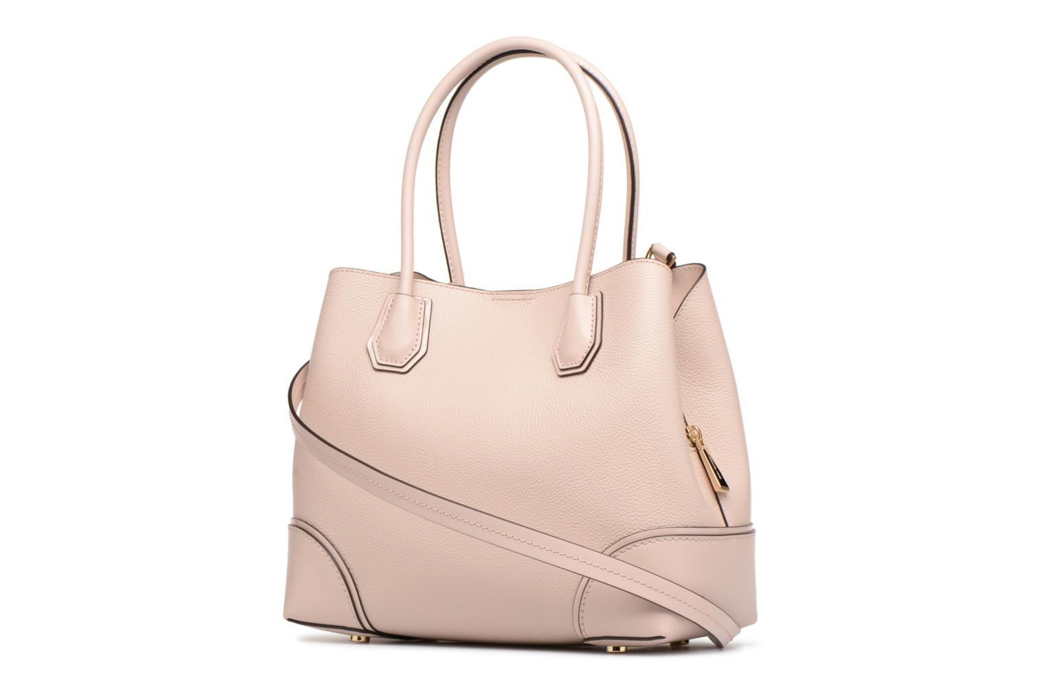 Bolsos de mano Michael Michael Kors Mercer Gallery MD Center Zip Tote Rosa vista lateral derecha