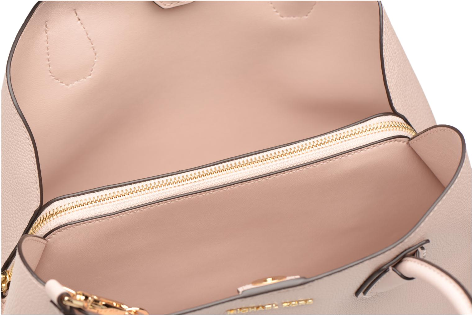 Bolsos de mano Michael Michael Kors Mercer Gallery MD Center Zip Tote Rosa vistra trasera