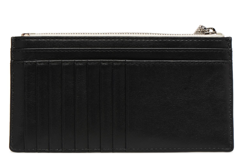 Marroquinería pequeña Michael Michael Kors LG Slim Cardcase Beige vista de frente
