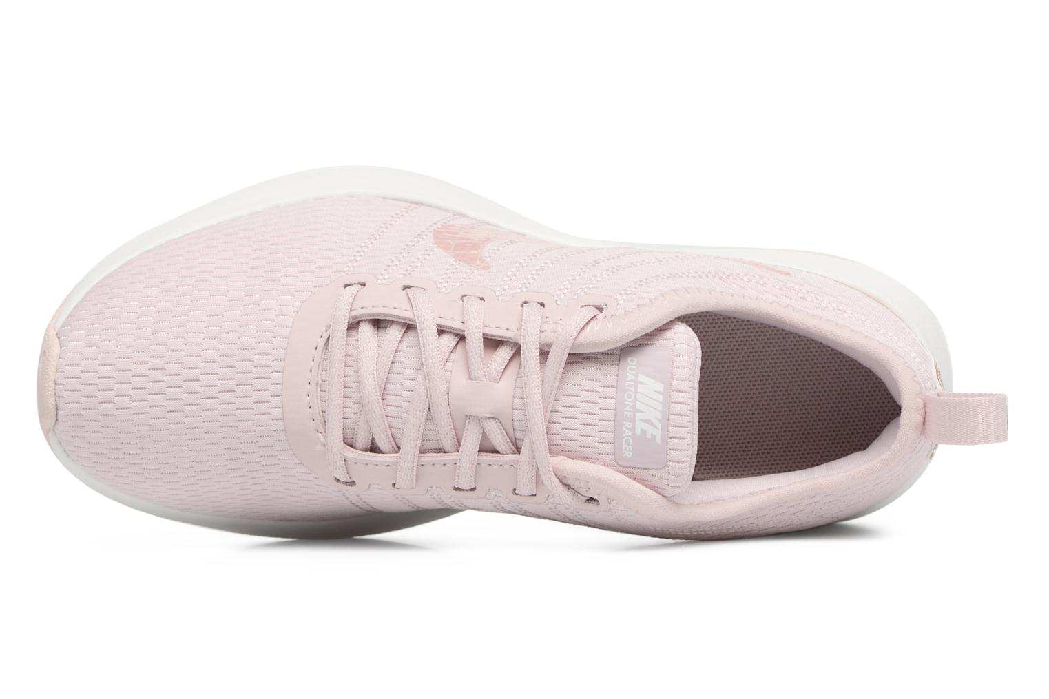 Barely Rose/Barely Rose-Mtlc Red Bronze Nike Nike Dualtone Racer (Ps) (Rose)