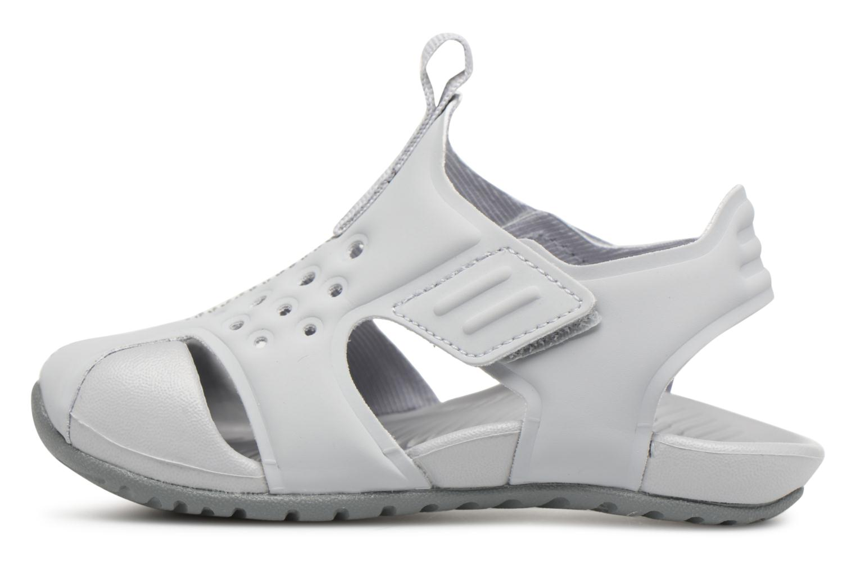 Sandales et nu-pieds Nike Nike Sunray Protect 2 (Td) Gris vue face