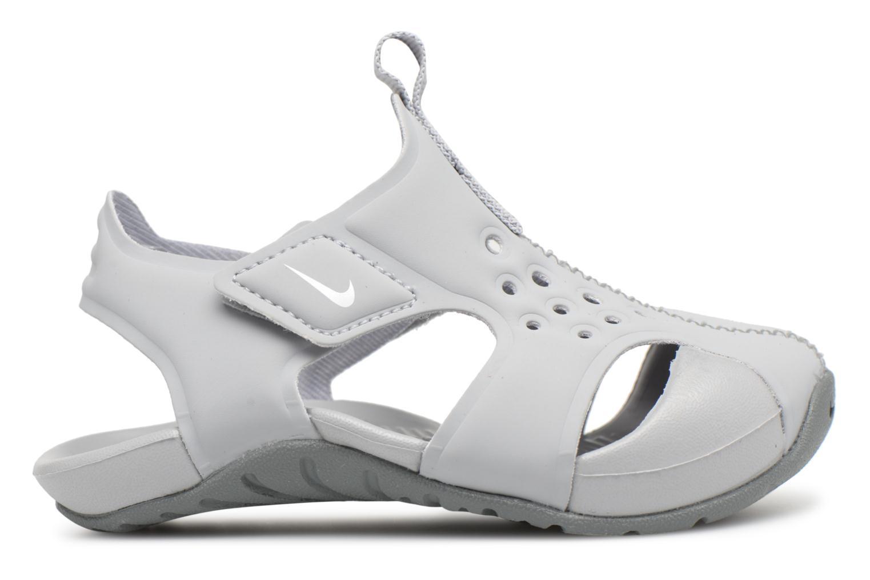 Sandales et nu-pieds Nike Nike Sunray Protect 2 (Td) Gris vue derrière