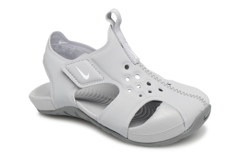 Sandales et nu-pieds Nike Nike Sunray Protect 2 (Td) Gris vue détail/paire