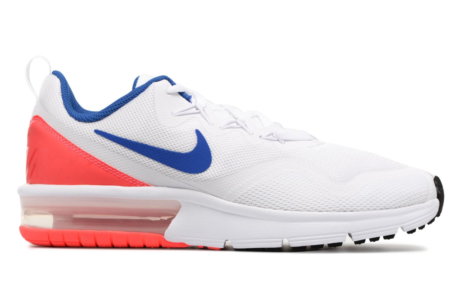 White/Ultramarine-Solar Red-Black Nike Nike Air Max Fury (Gs) (Blanc)