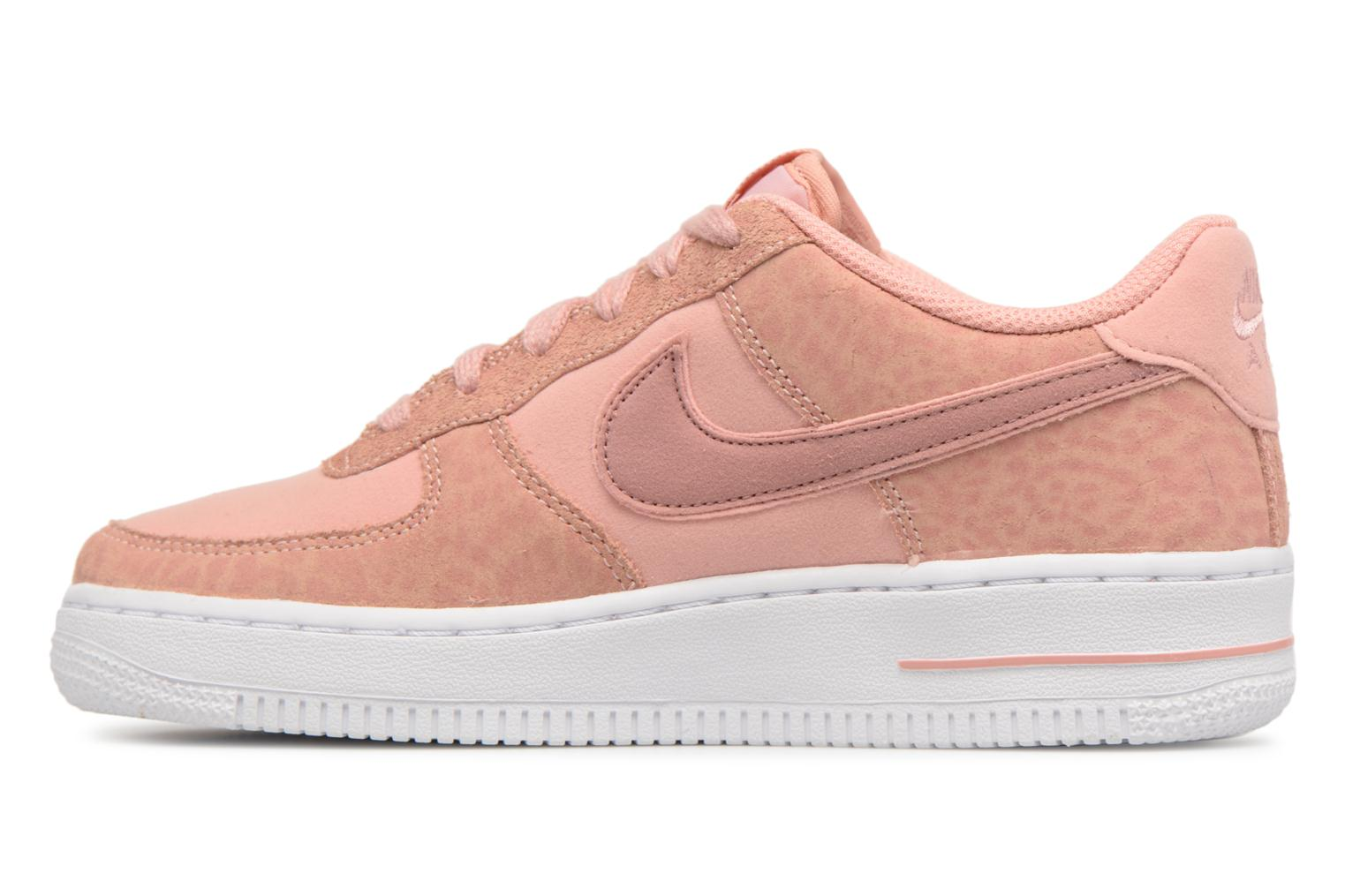 Baskets Nike Nike Air Force 1 Lv8 (Gs) Rose vue face