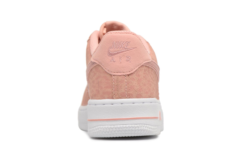 Baskets Nike Nike Air Force 1 Lv8 (Gs) Rose vue droite
