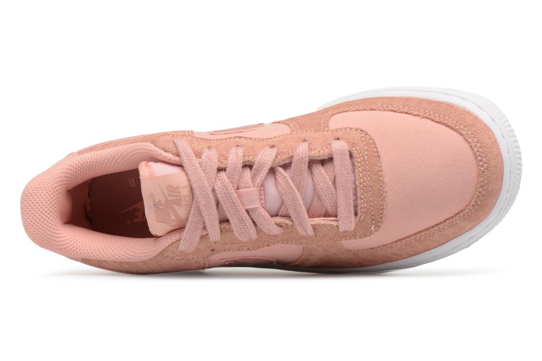 Baskets Nike Nike Air Force 1 Lv8 (Gs) Rose vue gauche