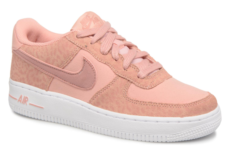 Baskets Nike Nike Air Force 1 Lv8 (Gs) Rose vue détail/paire