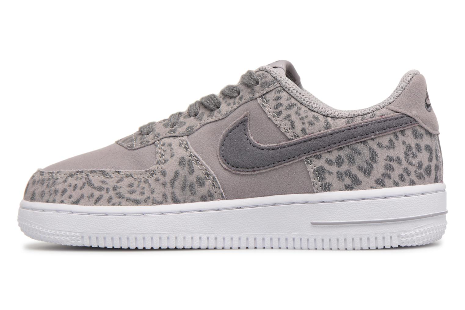 Baskets Nike Nike Force 1 Lv8 (Ps) Gris vue face