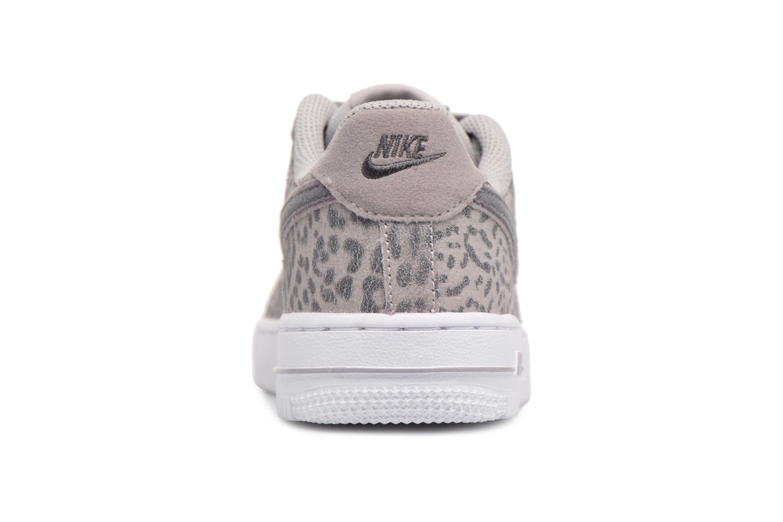Baskets Nike Nike Force 1 Lv8 (Ps) Gris vue droite