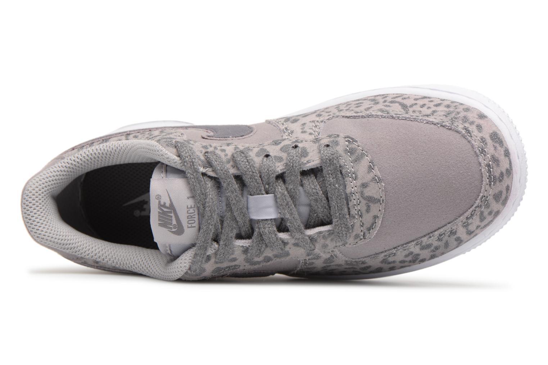 Baskets Nike Nike Force 1 Lv8 (Ps) Gris vue gauche