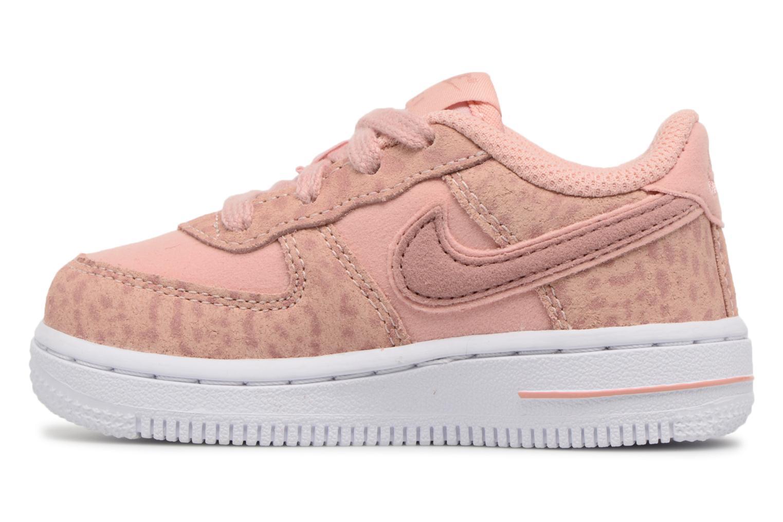 Sneakers Nike Nike Force 1 Lv8 (Td) Roze voorkant