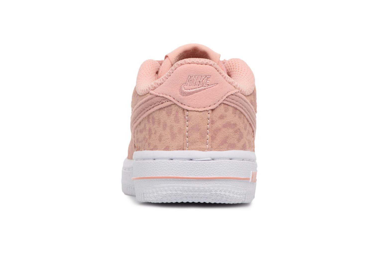 Baskets Nike Nike Force 1 Lv8 (Td) Rose vue droite