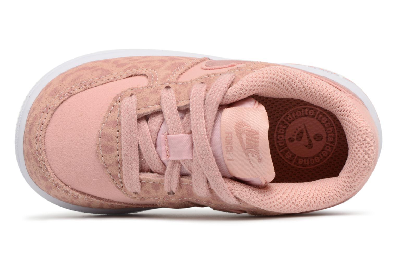 Baskets Nike Nike Force 1 Lv8 (Td) Rose vue gauche
