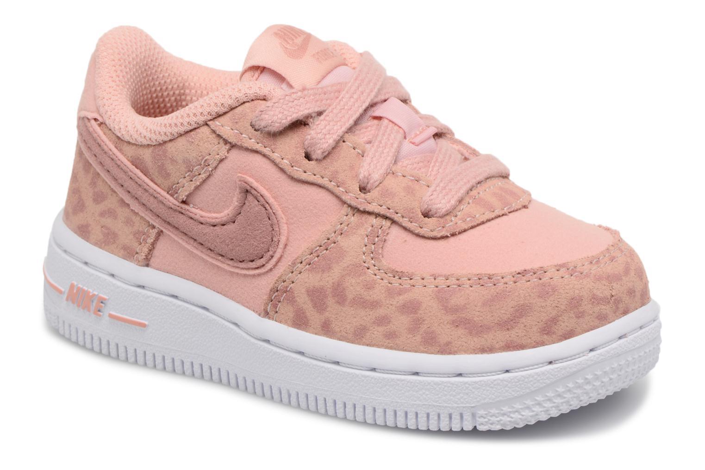 Baskets Nike Nike Force 1 Lv8 (Td) Rose vue détail/paire