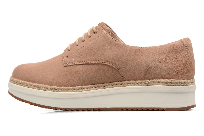 Chaussures à lacets Clarks Teadale Rhea Marron vue face