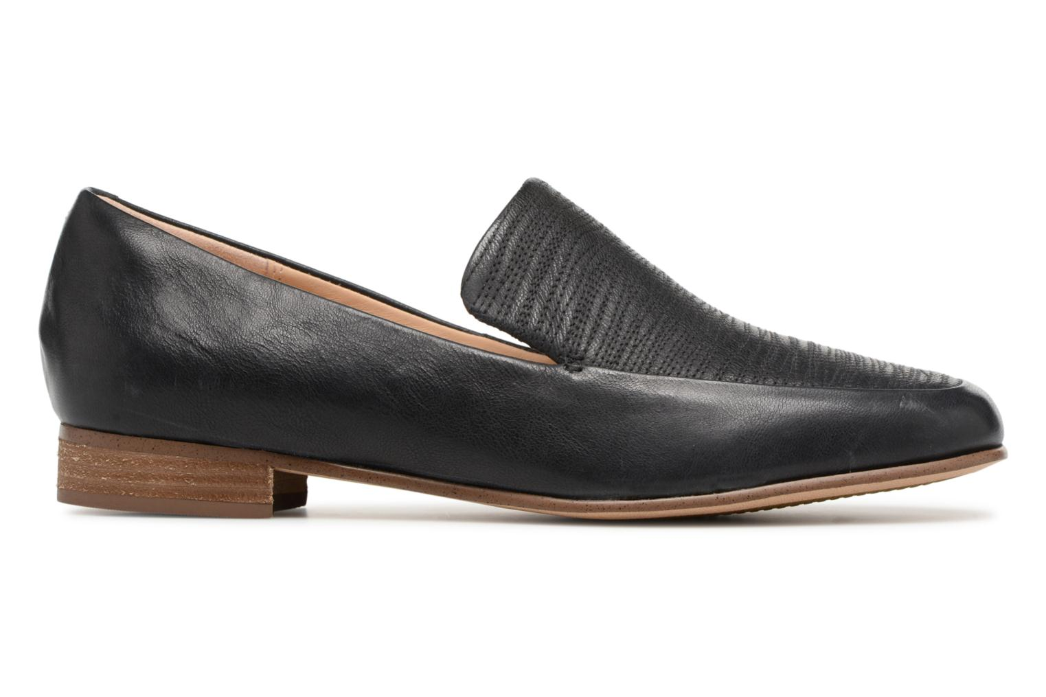 Loafers Clarks Pure Sense Black back view