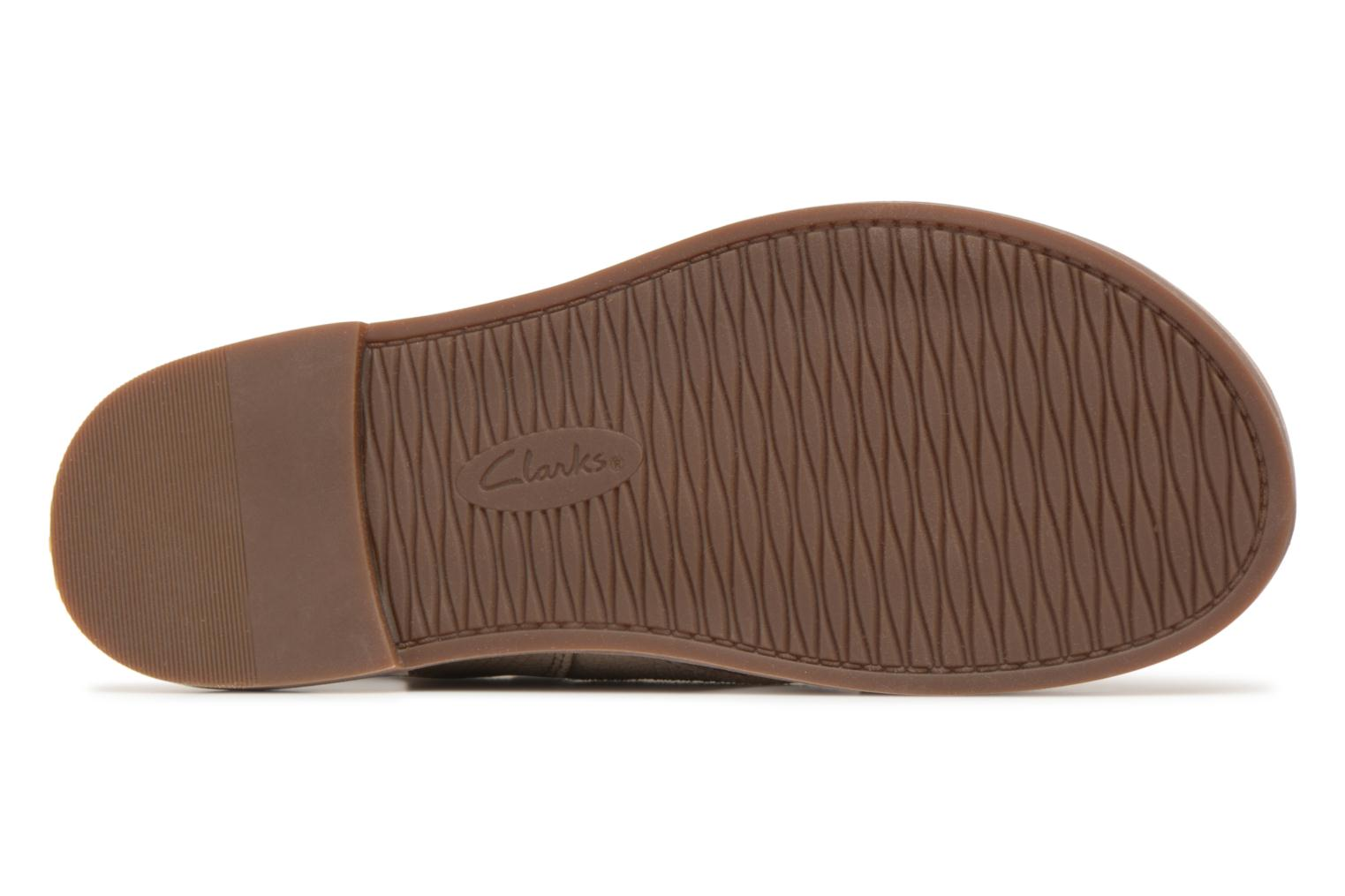 Sandals Clarks Corsio Calm Beige view from above