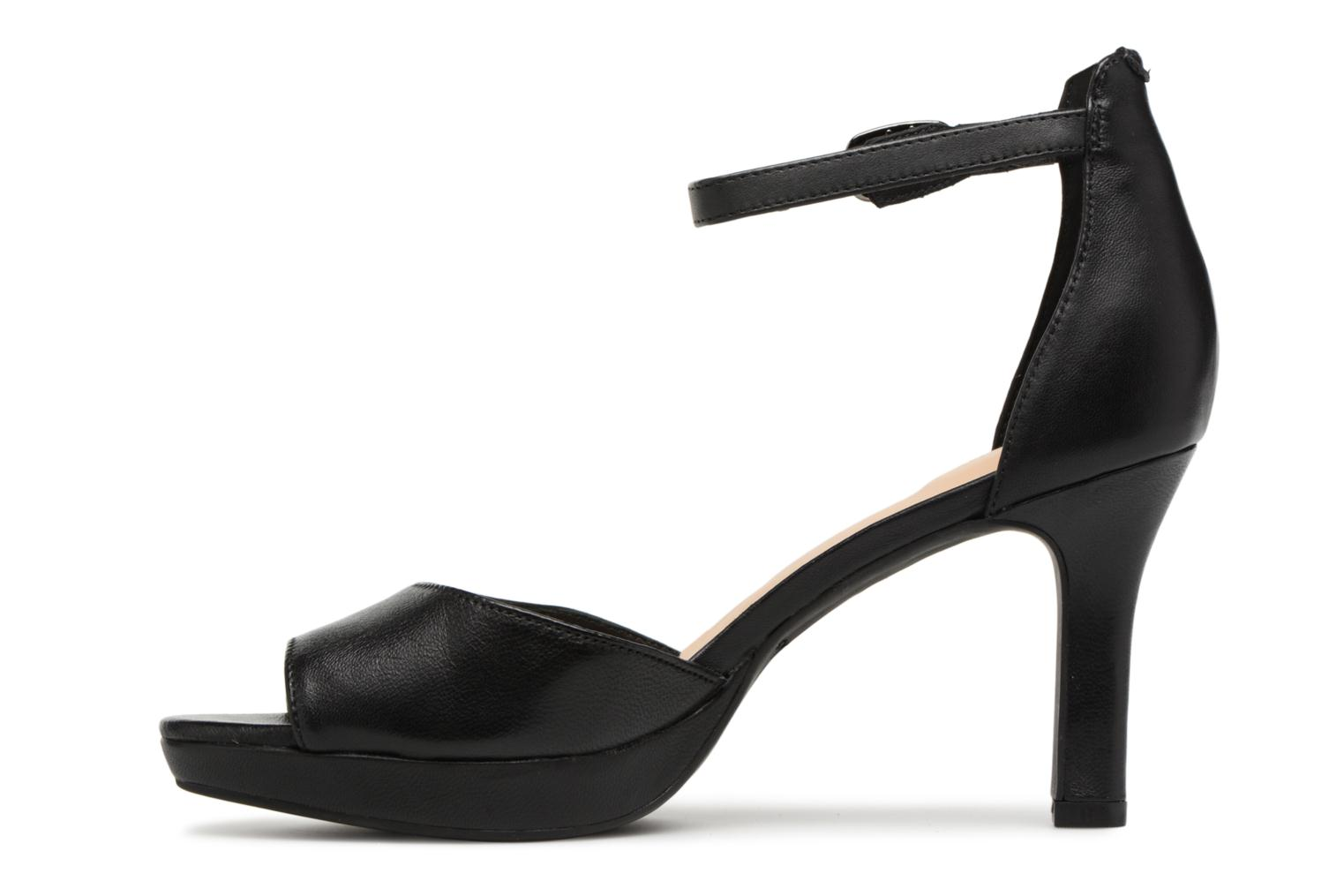 Sandals Clarks Mayra Dove Black front view