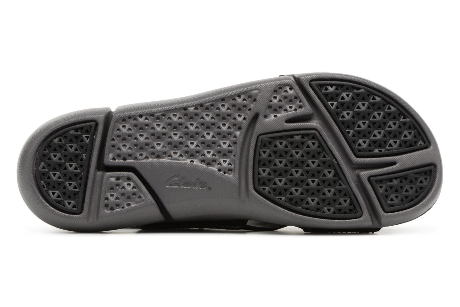 Sandals Clarks Tri Chloe Black view from above