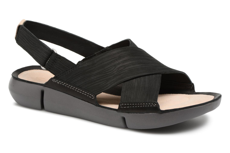 Zapatos promocionales Clarks Tri Chloe (Negro) - Sandalias   Venta de liquidación de temporada